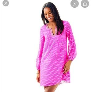 Lily Pulitzer Colby Silk Tunic dress